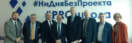 Встреча студентов МГТУ им. Г.И. Носова  с руководителями ООО «ММК-Информсервис»
